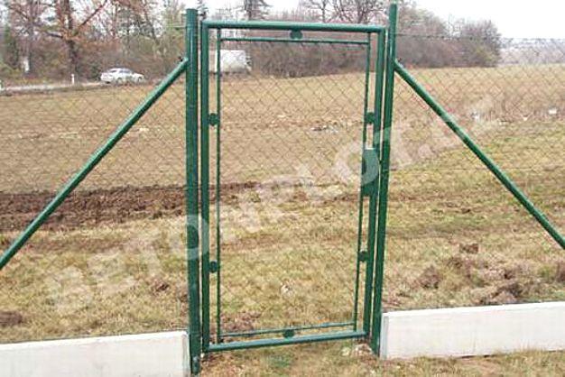 Typizovaná zahradní branka